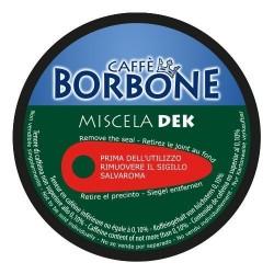 90 Capsule Caffè Borbone Miscela DEK Compatibili Macchine Nescafè Dolce Gusto