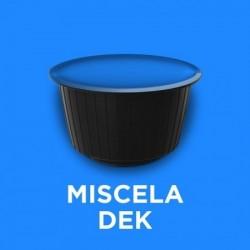 Confezione da 50 capsule compatibili nescafè dolce gusto miscela decaffeinata BLU